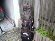 Golfbag mit Schläger gebraucht zu