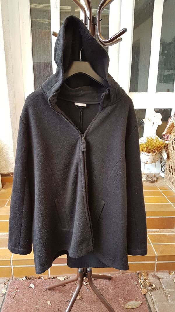 Figurgünstiger Outdoor-Strick-Long-Cardigan von Janina