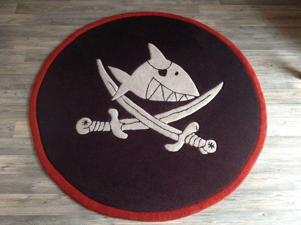 Capt n Sharky Kinder - Teppich -