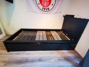 MALM Bettgestell inkl Lattenrost 200x90cm