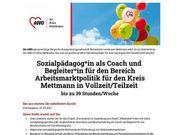 Sozialpädagoge als Coach und Begleiter