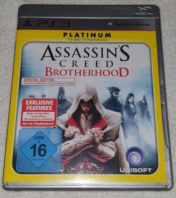 Für PS3 Assassin`s Creed Brotherhood - Platinum