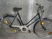 altes gebrauchtes 28er Hollandrad Damenfahrrad