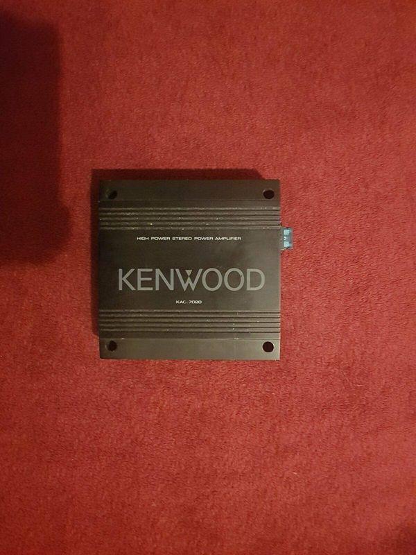 Kenwood Verstärker
