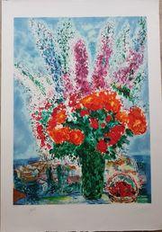 Marc Chagall - Le bouquet de