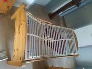 Jugendbett aus Massivholz 2-fach verstellbarer