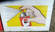 Roy Lichtenstein Kunstdruck gerahmt 60