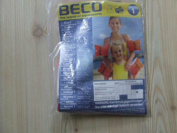 Schwimmflügel Beco Gr 1 unbenutzt
