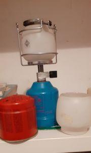 Campinglampe mit extra Gaskartusche