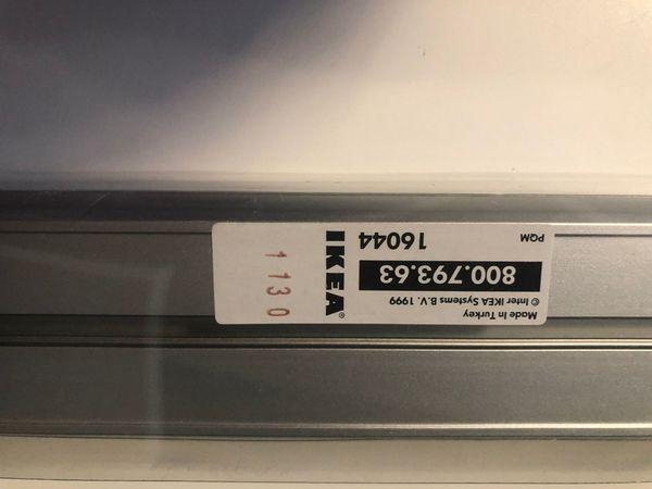 IKEA KVARTAL GARDINEN Alu 3-spurig