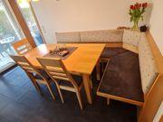 Eckbank Tisch Ansteckplatte und 3