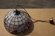 Näve Deckenlampe Tiffany Design benutzt