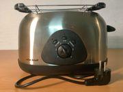 Toaster von efbe-Schott mit Brötchenaufsatz