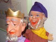2 Handpuppen für Kasperle-Theater zu