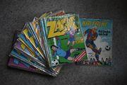 Vintage Zack-Sammlung