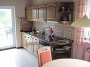 Küche zwei Zeilen Eiche Landhaus