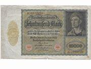 zehntausend Mark Reichsbanknote