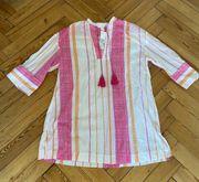 Ibiza Boho Sommerkleid Kleid Bluse