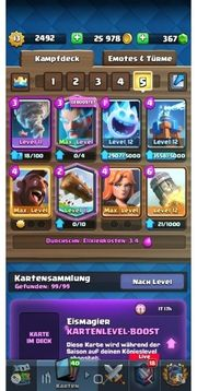 Clashroyale Account Lvl 13