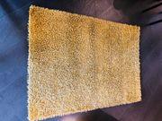 Teppich 183cm 130 cm - gold