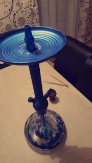 blaue matt shisha 45