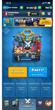 Clash Royale Account auf Level