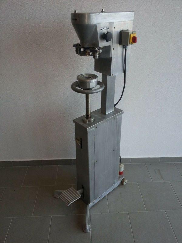 TISCHO DV10R Dosenmaschine