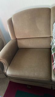 2 Sitzer mit Sessel