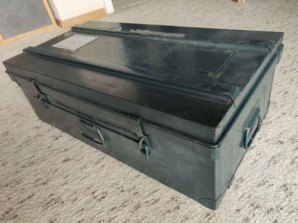 Metallkiste Blechkoffer 6x