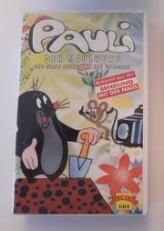 Pauli Maulwurf Film auf VHS