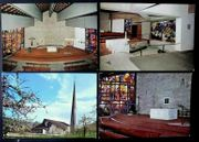 4 alte Postkarten neue Pfarrkirche