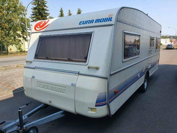 Wohnwagen von Eura Mobil mit