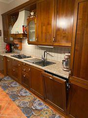 italienische echt Holz Küche