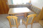 Eckbank mit 2 Stühlen und