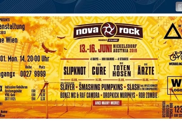 Nova Rock 2019 Festivalpass