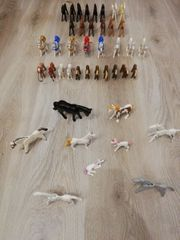 63 Playmobil Pferde mit Seltene