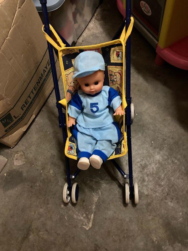 Buggy für Puppen klappbar