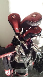 Wilson Deep Red Golfschläger plus