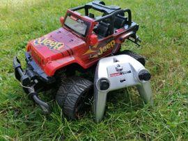 RC-Modelle, Modellbau - Jeep ferngesteuert