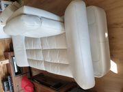 Leder-Couch 2-Sitzer