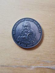 80 Geburtstag Heinz Sielmann Münze