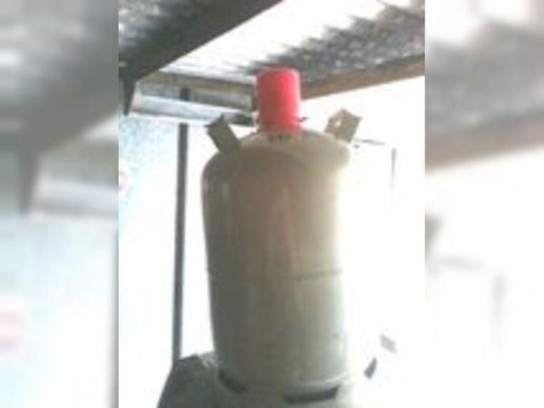 Voll Pfand Gas Flasche