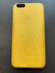 seltene gelbe Leder-Hülle von Apple