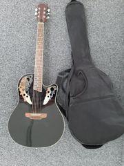 Westerngitarren mit Tasche