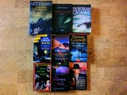 Bücher Kriminalromane 6 Stück