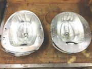 Werkstatt-Fund 2 x Reflektoren Natriumdampflampen