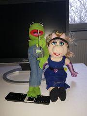 Miss Piggy und Kermit der