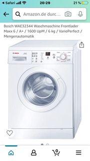 Bosch Waschmaschine Maxx6