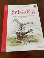 Gitarrenbuch Fridolin Eine Schule für