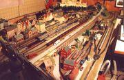 Verkaufe Große N-Modellbahnanlage demontiert Sammlung